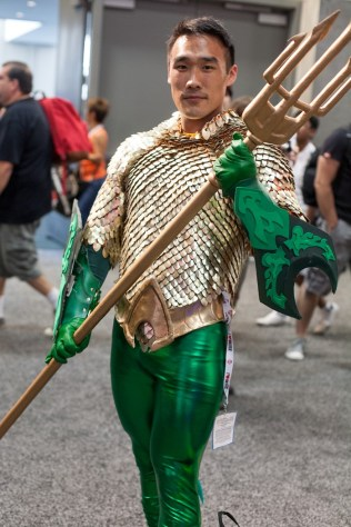 Aquaman - San Diego Comic-Con (SDCC) 2013 (Day 1)
