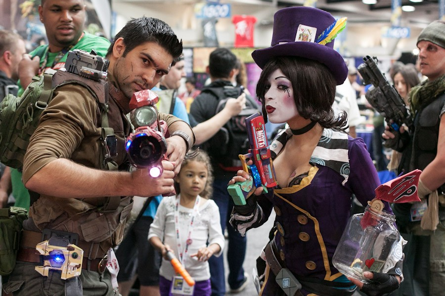 Borderlands Cosplayers - San Diego Comic-Con (SDCC) 2013 (Day 3)