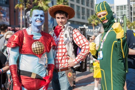 Captain Planet, Woody and Kick-Ass - San Diego Comic-Con (SDCC) 2013 (Day 1)