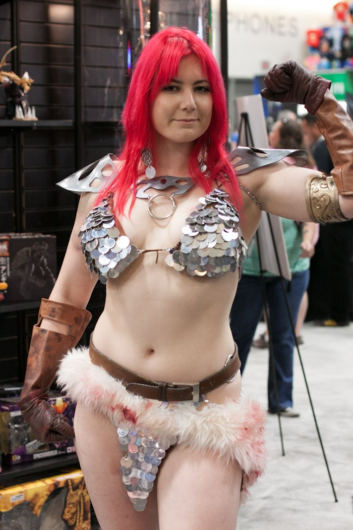Red Sonja - San Diego Comic-Con (SDCC) 2013 (Day 3)