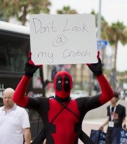 Deadpool - San Diego Comic-Con 2013 - Photography: San Diego Shooter