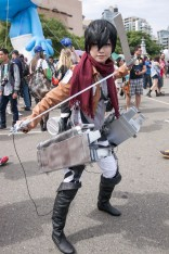 Mikasa Ackerman (Attack on Titan) - San Diego Comic-Con (SDCC) 2013 (Day 3)