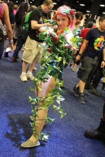 Poison Ivy (Boston Comic Con 2013) - Picture by pullip-junk