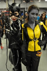 Catwoman and Mystique - Montreal Comic Con 2013 - Picture by Geeks are Sexy