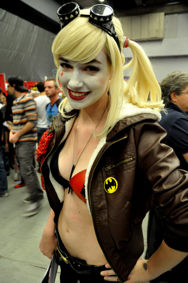 Harley Quinn - Montreal Comic Con 2013 - Picture by Geeks are Sexy