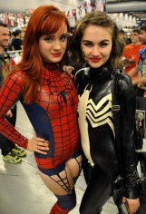 Spider-Man and Venom Latex Cosplay - Montreal Comic Con 2013 - Picture by Geeks are Sexy