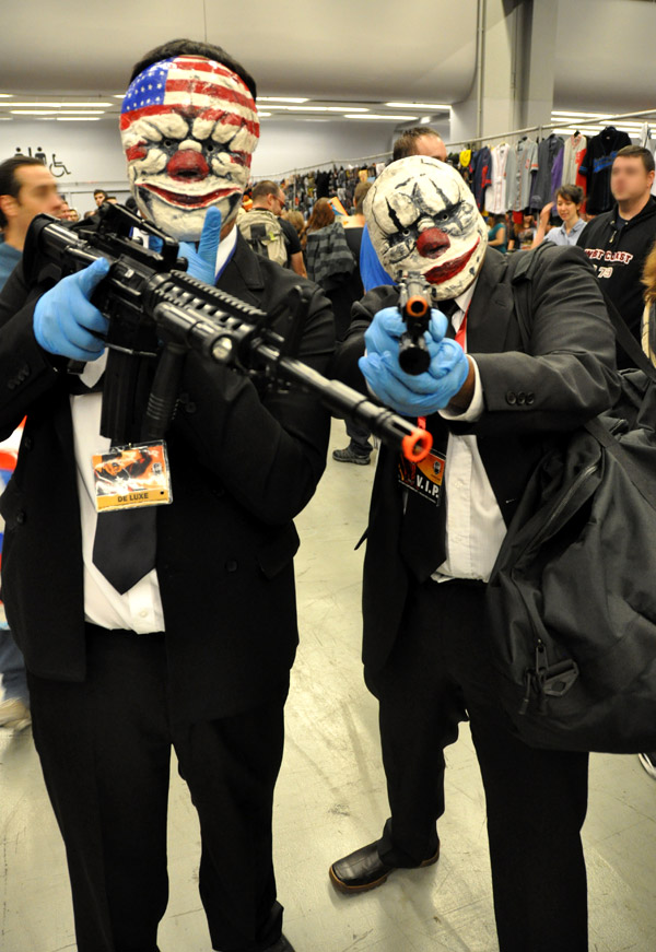 Payday 2 Cosplay - Montreal Comic Con 2013 - Picture by Geeks are Sexy