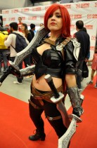 Katarina (League of Legends) Cosplay - Montreal Comic Con 2013 - Picture by Geeks are Sexy