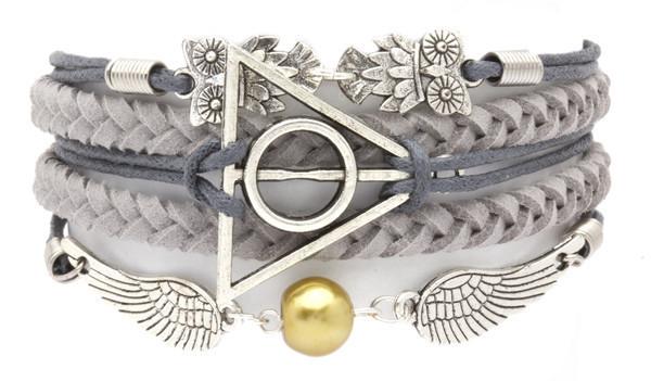 Ashley Bridget Deathly Hallows Bracelet