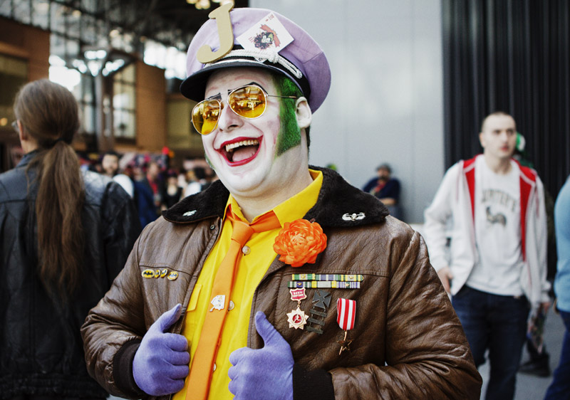 The Joker - New York Comic Con (NYCC) 2013 - Geeks are Sexy