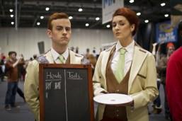 Lutece Twins (Bioshock Infinite) - MCM London Comic-Con 2013