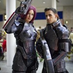 Mass Effect Cosplayers - MCM London Comic-Con 2013