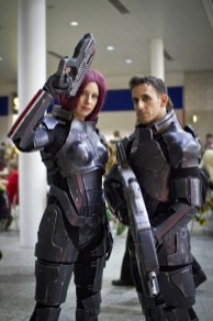 Mass Effect Cosplayers - MCM London Comic-Con 2013