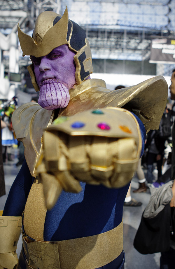 Thanos – New York Comic Con (NYCC) 2013 - Geeks are Sexy