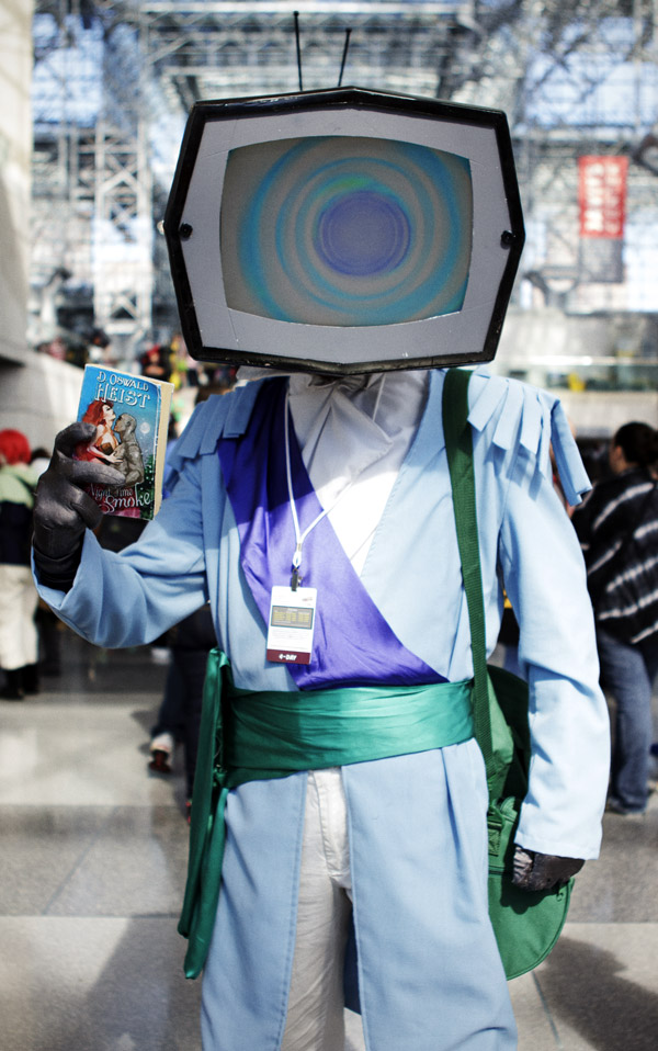 Prince Robot IV from Saga – New York Comic Con (NYCC) 2013 - Geeks are Sexy