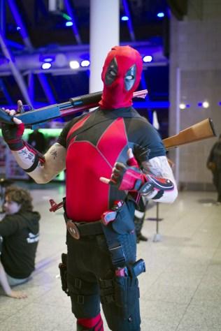 Deadpool - MCM London Comic-Con 2013