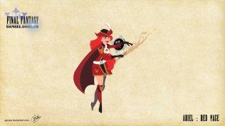 Ariel - Red Mage - Artwork: Geryes