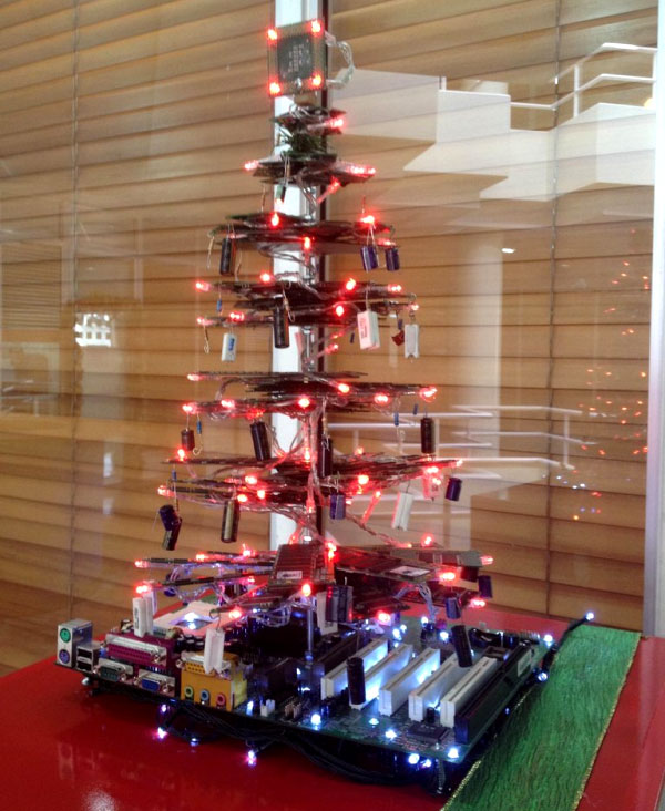 Christmas Tree at Work