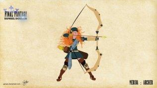 Merida - Archer - Artwork: Geryes