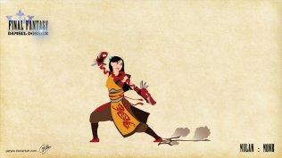 Mulan - Monk - Artwork: Geryes