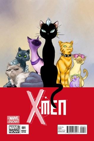X-Men - Artwork by David Lopez