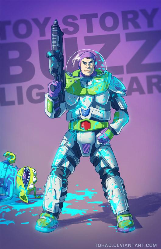 BADASS Buzz Lightyear