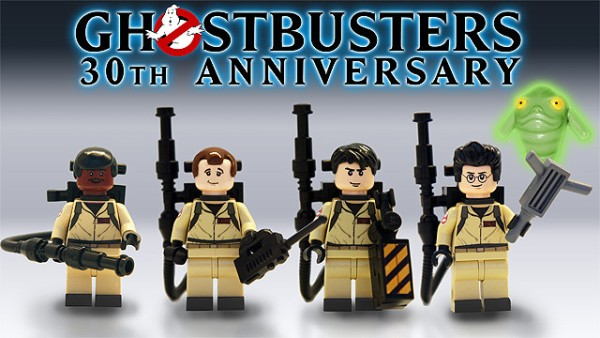 ghostbusters minifigs