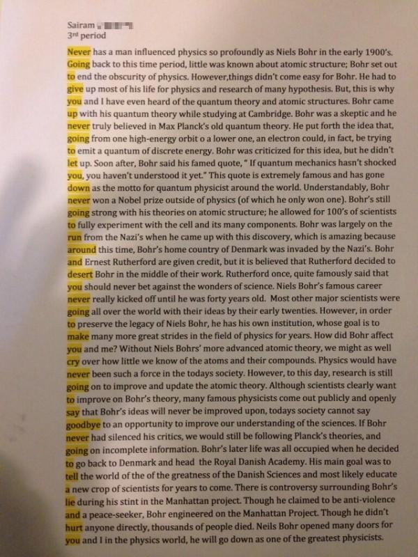 Music and physics essay