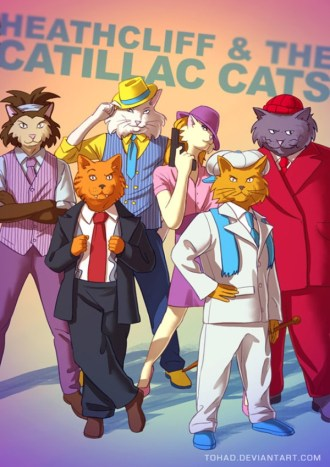 Heathcliff and Cadillac Cats