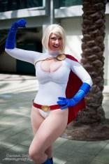 PG Vegas as Power Girl - Wondercon 2014 - Photo by Davann Srey