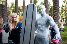 Invisible Woman and Silver Surfer - Wondercon 2014 - Photo by Davan Srey