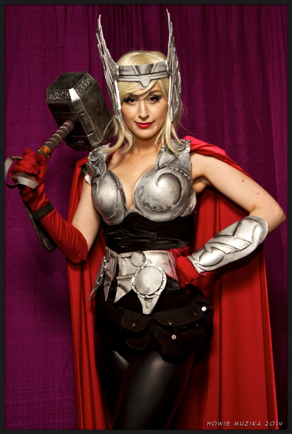 Thor - SDCC 2014 - Photo: Howie Muzika