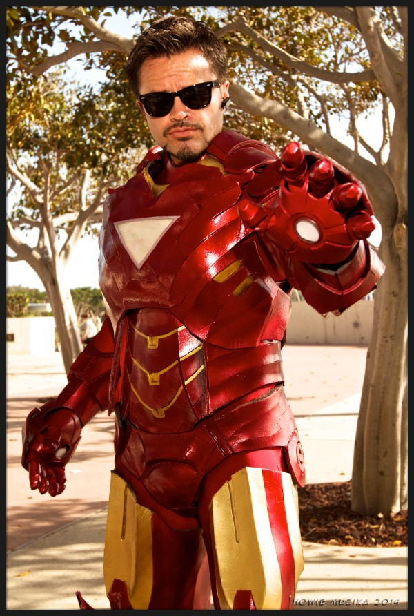 Iron Man - - SDCC 2014 - Photo: Howie Muzika