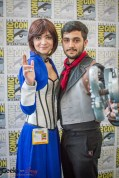 Elizabeth and Booker (Bioshock Infinite) - SDCC 2014 - Photo: Geeks are Sexy