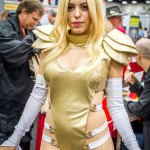Emma Frost (Nadya Sonika) - SDCC 2014 - Geeks are Sexy