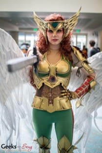 Hawkgirl - SDCC 2014 - Photo: Geeks are Sexy