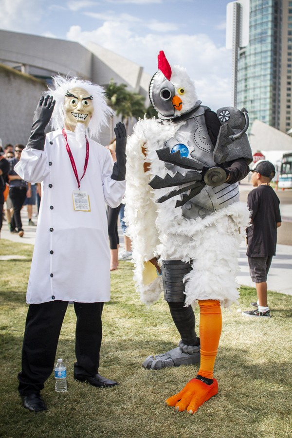 Robot Chicken - SDCC 2014 - Geeks are Sexy