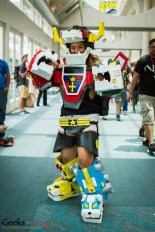 Voltron - SDCC 2014 - Photo: Geeks are Sexy