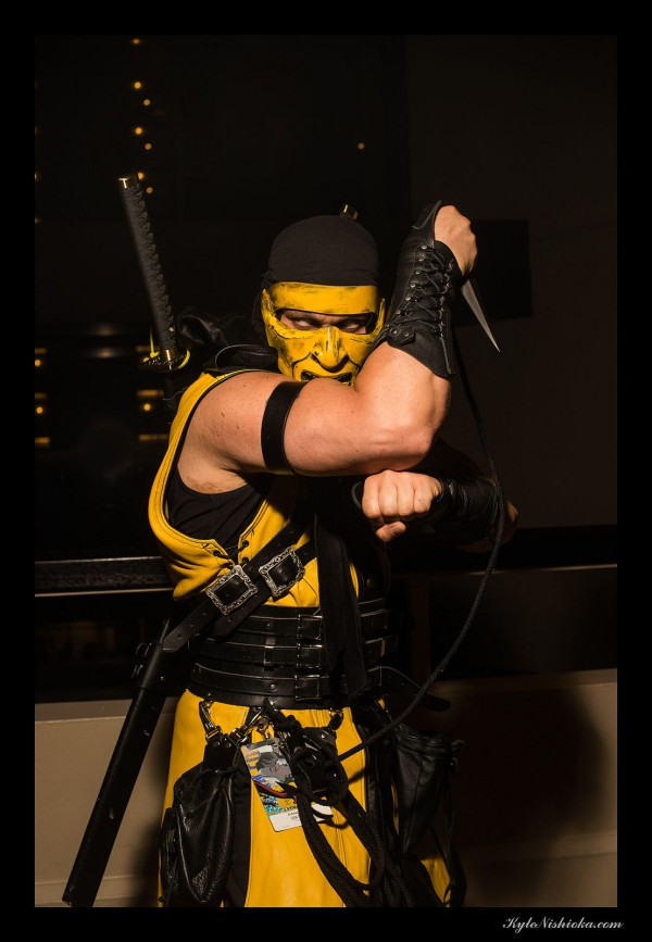 Scorpion (DragonCon 2014) Photography: Kyle Nishioka