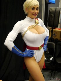 Power Girl (Marie-Claude Bourbonnais) - Montreal Comic Con 2014 - Photo by Geeks are Sexy