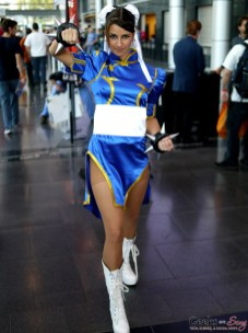 Chun-Li - Comiccon de Québec 2014 - Photo by Geeks are Sexy