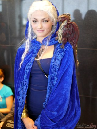 Daenerys Targaryen - Comiccon de Québec 2014 - Photo by Geeks are Sexy