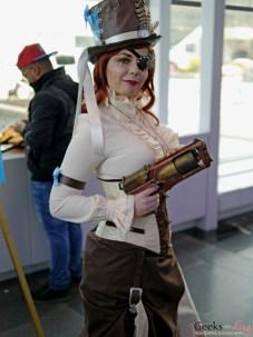 Steampunk Lady – Comiccon de Québec 2014 – Photo by Geeks are Sexy
