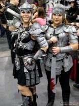 Warrior Ladies - Comiccon de Québec 2014 - Photo by Geeks are Sexy