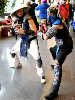 Raiden and Sub-Zero - Comiccon de Québec 2014 - Photo by Geeks are Sexy