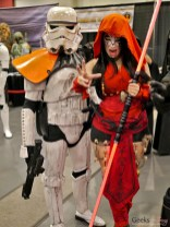 Stormtrooper and Sith (Alexanne Darkholme) - Comiccon de Québec 2014 - Photo by Geeks are Sexy