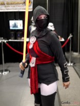 Asajj Ventress (Night Sisters) (Sith) - Comiccon de Québec 2014 - Photo by Geeks are Sexy