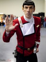 Vegas Spock - Comiccon de Québec 2014 - Photo by Geeks are Sexy