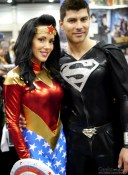 Wonder Woman and Superman – Comiccon de Québec 2014 – Photo by Geeks are Sexy