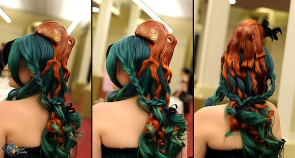 octopus hair piece 2
